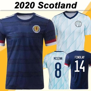 2020 맥그리거 그리피스 로버트슨 남성 축구 유니폼 스코틀랜드 국가 대표팀 SHANKLAND FINDLAY 맥긴 홈 원정 축구 셔츠 유니폼