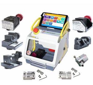 2019 Nuevo Full Automatic SEC-E9 Key Cutting Machine Auto Key Programmer para todos los coches SEC-E9 Key Cutting Machine Silca Machine