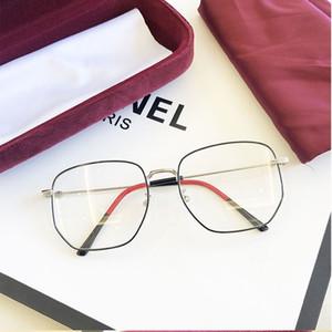 liga extragrandes Óculos Mulheres Homens Óculos Frames Quadrado Grande Cara da forma Grau Prescription Espetáculos Nerd Miopia UV400
