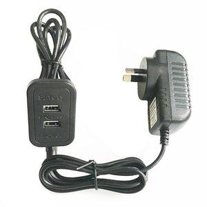 AU New Zealand Standard Safety Power Adaptor Supply 2.2 M Длина кабеля USB Extender зарядное устройство мебельная розетка двойные порты USB2. 0 черный корпус