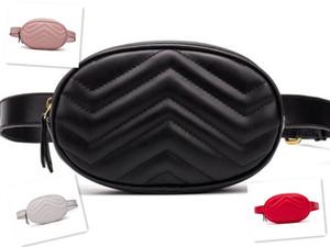 nueva venta caliente del cuero de la PU mujeres de los bolsos del estilo del corazón paquetes de Fanny cinturón de pecho monederos empaqueta la cartera del bolso de la señora cintura empaqueta