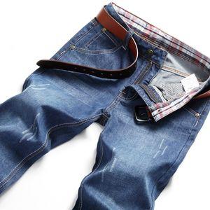 New Mens Fashion Black Blue Jeans Men Casual Slim Stretch Jeans Classic Denim Pants Trousers Plus Size 28-40 High Quality
