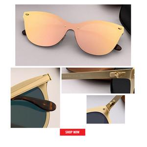 2019 nouvelle tendance cateye BLAZE Style lunettes de soleil Vintage Rétro Marque Design Couleur Miroir Lunettes De Soleil Femmes Oculos De Sol uv 400 gafas