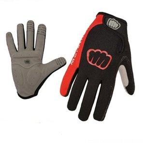 MOREOK Außensportausrüstung Waschbar Radfahren Protektoren Radfahren Mikrofaser Antislip Frauen Fahrrad-Handschuhe In voller Finger