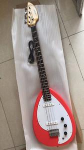 Новый VOX MARK V Bass Phantom Красный электрический бас-гитара