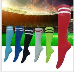 calzini da calcio sezione sottile antiscivolo Abbigliamento per bambini barre parallele calcio calzini multi-colore calze sportive opzionali