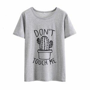 Bayan Tasarımcı Giyim Kadın Gömlek oln Değil Zor Me Cactus Tişörtlü Kadınlar Yaz Tshirts Cato Kadınlar Vintage Kısa Beyaz Kadınlar Tops