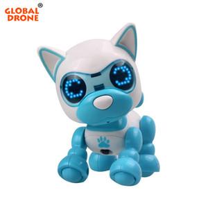 소년 소녀 로봇 개 터치 센서 댄스 음악 생일 크리스마스 선물 로봇 강아지 장난감 Y200428을위한 로봇 완구