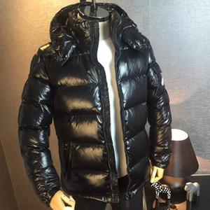 HOT New Homens Mulheres Casual Jacket Down Coats Mens Outdoor Quente Brasão outwear Casacos Parkas Feather Man Inverno