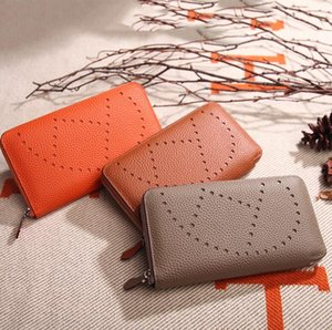 Mode unisexe de haute qualité litchi de femmes Designer en cuir Purse Motif tête couche vache en cuir H Sac à main