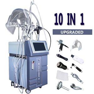 2020 New Oxygen Facial Jet Peel Machine à oxygène hyperbare Balnéothérapie Peeling facial machine oxygène spray peau Équipement soins