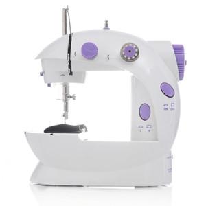 In Stock Mini Portable Handheld Sewing Machines Stitch Sew Needlework Cordless Clothes Fabrics Electrec Sewing Machine Stitch Set 16