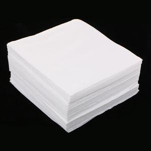 150PCS / lot الأبيض بلا غبار غرف الأبحاث ممسحة مسح القماش مكافحة ساكنة 6 ''