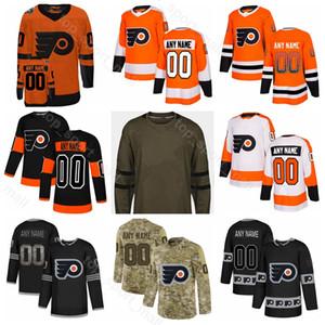 Philadelphia Flyers Sean Couturier Jersey Buz Hokeyi Claude Giroux Travis Sanheim, Scott Laughton Jakub Voracek Moda Degrade Özelleştirilmiş