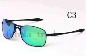 Verão Metal frame Designer TOp qualidade Marca Óculos De Sol para homens cores POLARIZADAS Óculos De Sol Esportes Ciclismo Moda gafas De Sol metal 5 PCS
