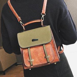 Sac à dos Leftside Voyage Mignon Petit bourse en cuir style Sacs à dos pour College School étudiants Adolescent Cadeau de Noël