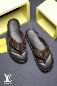 Дешевого Luxury Designer Summer Sandals Бич МУЖСКОГО ЖЕНСКОГО Slide Luxury Тапочки Женщина Дизайнерской обувь Кожа 36-46