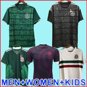 México camisa de futebol camisa de futebol Gold Cup 2019 Camisetas 19 20 Homens Mulher Kids 2018 Chicharito LOZANO DOS SANTOS camisa de futbol