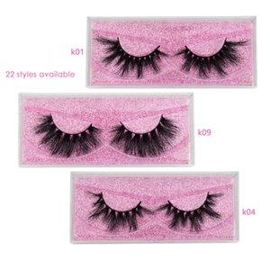 Wholesale Lashes 3D Mink Eyelashes Cruelty Free Eyelashes Handmade Reusable Dramatic Eyelashes Makeup False Lashes In Bulk