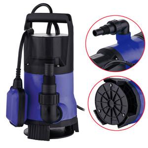 1HP 3432GPH Limpo / Sujo Bomba de Água Fonte de Transferência Piscina Jardim Máquina Azul