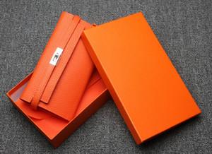 Kadınlar Yüksek Kaliteli kart sahipleri Bayanlar Tasarımcı Uzun Çanta Kilidi Cüzdan için Tasarımcı-Cüzdan