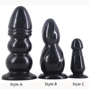 Faak Большой анальный плагин черный фаллоимитатор огромный гигантский Анальная пробка секс игрушки Эротические товары пары дрочить флирт игрушка поддельные пенис секс магазин Y191028