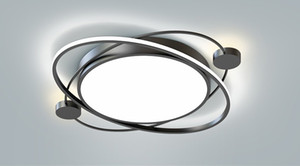 Oturma odası Yatak odası parıltı de tavan moderne armatür plafonnier yüzeyi için Modern LED Tavan Işıklar Tavan Lambası LLFA açtı
