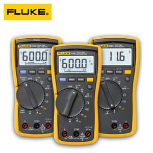 Fluke 107 Multimetro digitale portatile portatile di Palm Digital Multimetro digitale AC DC Multimetro digitale