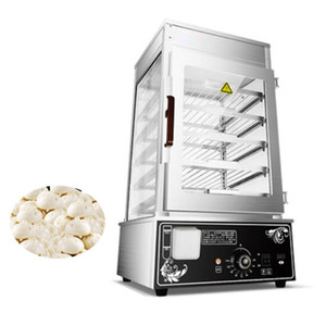 inossidabile di trasporto commerciale elettrico panino Steamer pane alimentari Warmer Cabinet panino farcito Steam Machine