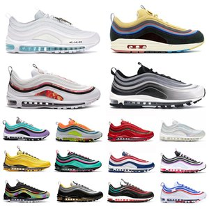 2020 hot sean wotherspoon men women running shoes bred game royal Jesus triple Easter undefeate black silver bullet mens sports sneakers