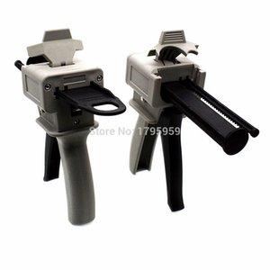 50ml 75ml AB epoxy pegamento pistola aplicador de cola adherente Pistola mixta 10: 1 de dos componentes AB dispensación de la mano del calafateo