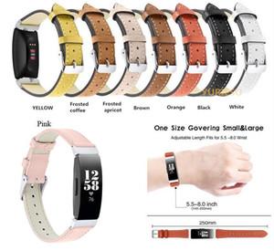 Fitbit를위한 정품 가죽 팔찌 스트랩 Inspit / Inspire Hr Bands 팔찌 Fitbit Inspire Fitness Tracker