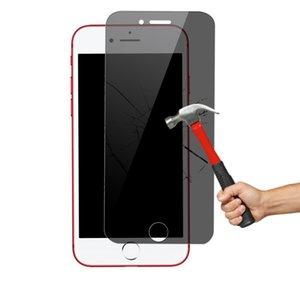 Filme protetor de película de vidro temperado anti-peep para iPhone 6 / 6S