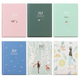 365 Dias Personal Diary Planner Hardcover Notebook Diário 2019 Agenda Semanal Escritório