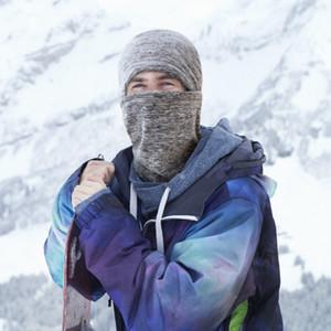 Bay Bayan Unisex Kayak Tam Yüz Kış Windproof Wind ve Soğuk Isı Yalıtım Motosiklet Fleece Başkanı Kapak Riding Maskesi