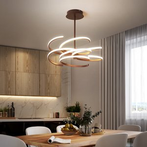 Nordic chandelier art dining room lamp bar creative personality hall post-modern simple style living room bedroom lamps and lanterns