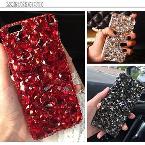 gros pour meizu pro 6 téléphone cas diamant cas de téléphone strass pour meizu m3 note / m3s / m5 / u10 / m5 note / mx6 / u20 moble sac de téléphone