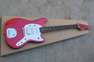 Бесплатная доставка NEW прибытие красной гитара Jaguar Vintage Special MG65-VSP 600 электрогитара Jaguar