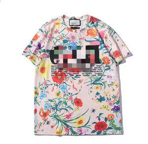 T camisa-de moda Harajuku T-shirt ocasional T-shirt letras de manga curta de 2019 de luxo para homem homens impresso decalques bordados engraçado