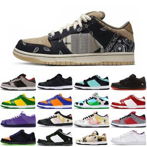 2020 húmido robusto Dunky Kentucky Skate sapatos de plataforma Syracuse Homens Mulheres Sneakers Raygun cimento branco Esportes Formadores Chaussures