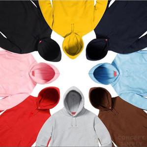 Hiphop 19 FW Nueva sudaderas con capucha para hombre del diseñador de moda con capucha Carta del patrón de lujo Streetwear Trackshirt 2020 con capucha ropa
