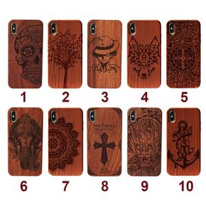 Con protezione completa su misura in TPU telefono caso di legno per iPhone Cell Phone 11 Pro Max per Samsung S20 Inoltre palissandro legno di copertura