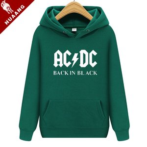New Arrival Spring Autumn Couples Fashion Hoodies Men's Clothing Men Printed AC DC Graphic Pullover Sweatshirt Hip Hop Lovers Hoodies 0079W