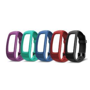 Spor Tracker ID107 Artı HR 2019 yeni Smart Bilezik Ayarlanabilir Bileklik Renkli Watchband Değiştirme Aksesuar