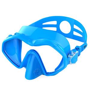 2019 nueva máscara de buceo de buceo para adultos máscara de silicona Máscara de snorkel equipado con flotante de buceo Dask Leisur Gafas de venta al por mayor