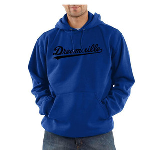 Homens Dreamville J. COLE capuz Outono Primavera com capuz Hoodies Hip Hop capuz Casual Tops Roupa