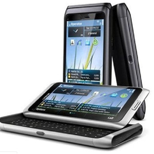 "E7-00 Original Desbloqueado Nokia E7 Remodelado telefone 4"" Touch Screen Slide Keyboard 16GB 3G Wifi 8MP"