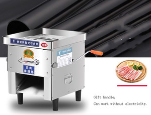Электрический Meat нарезка машина Коммерческие Meat резка нержавеющей сталь электрического ручной Meat Slicer для продажи