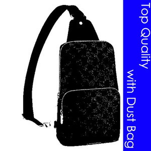 Top Quality N41719 N41720 Avenue Sling Bag Designer Fashion Men's Cross Body Sling Canvas Pelle Sportive Casual Messenger Piccola borsa a tracolla