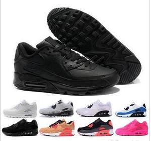 الجملة أزياء الرجال أحذية رياضية الكلاسيكية 90 الرجال والنساء الاحذية الرياضية مدرب وسادة 90s سطح تنفس الأحذية الرياضية